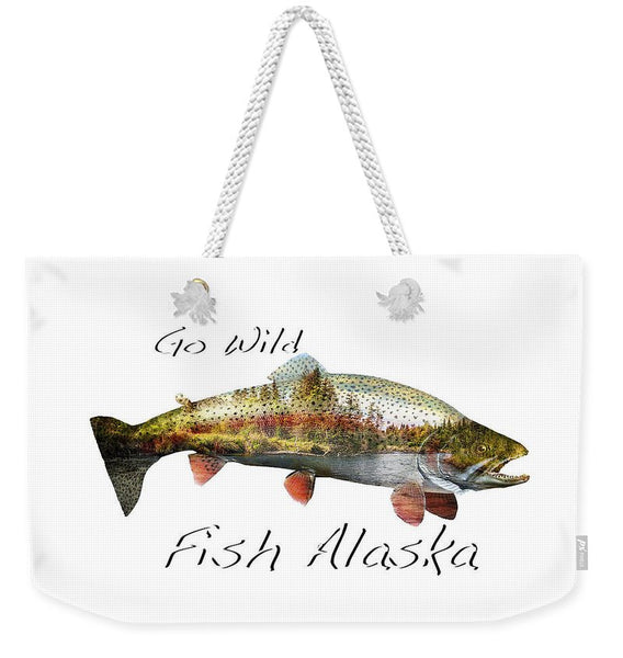 Rainbow Fish Creek - Weekender Tote Bag