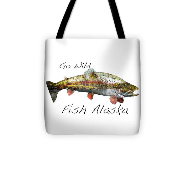 Rainbow Fish Creek - Tote Bag