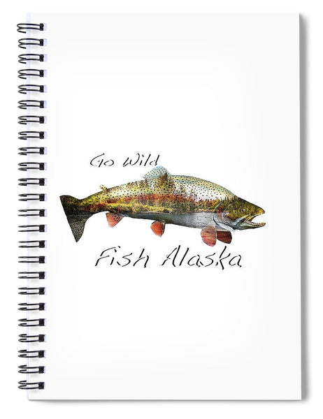 Rainbow Fish Creek - Spiral Notebook