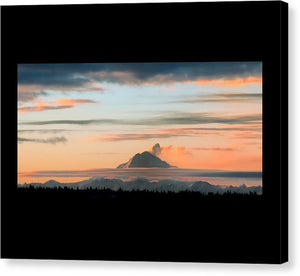Redoubt Sunset - Canvas Print
