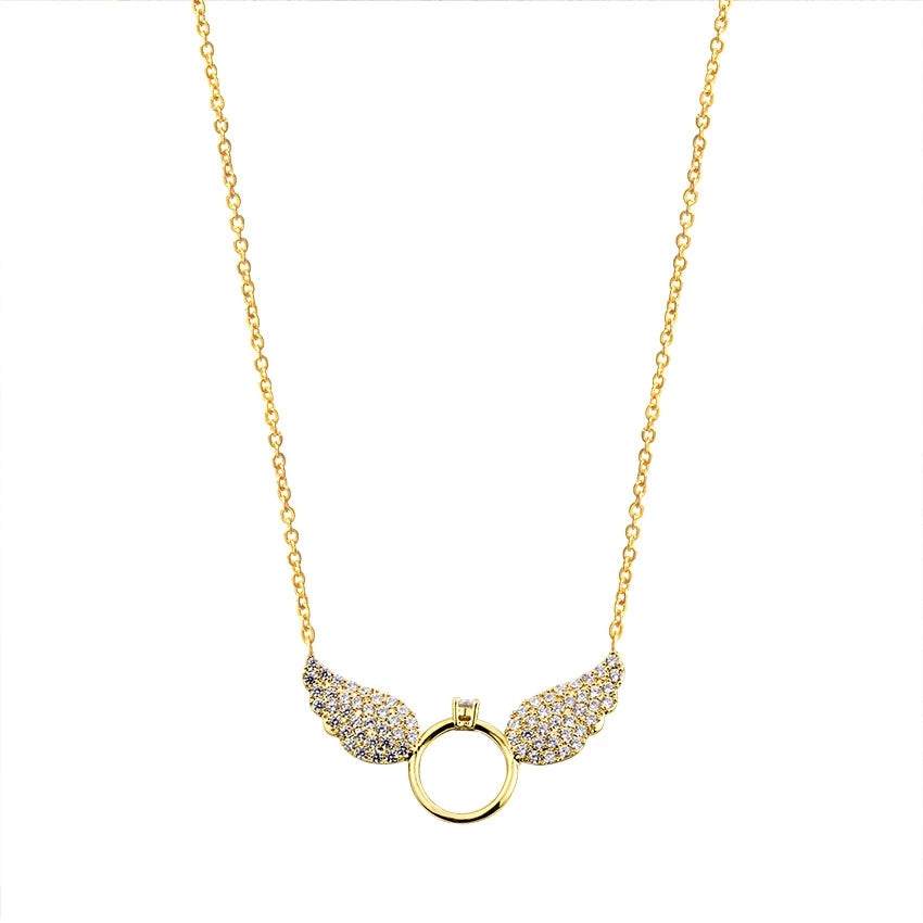 Evian: Angel Necklace