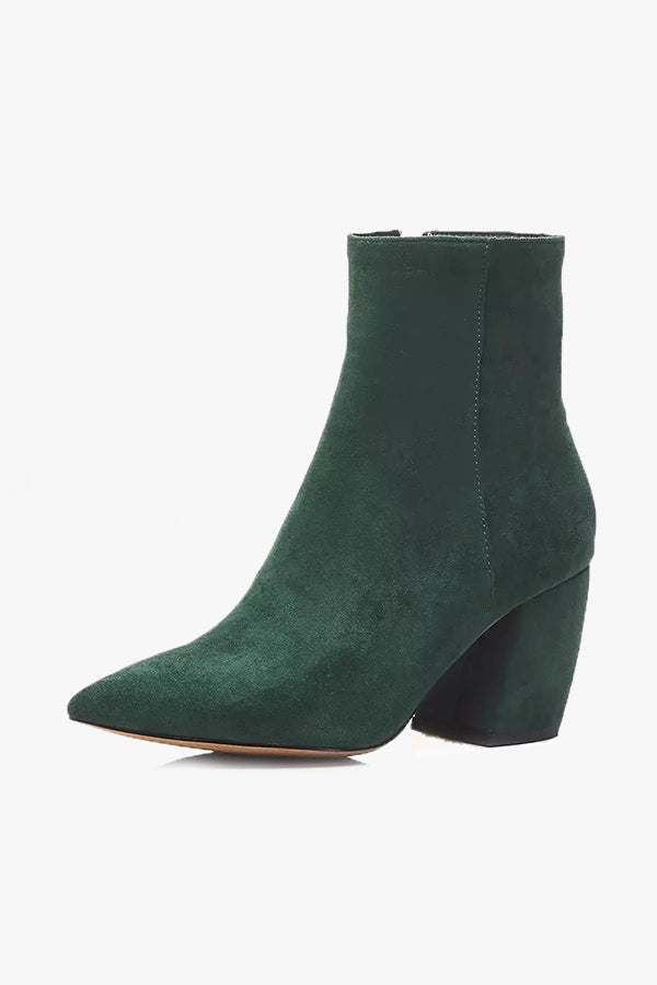 Clemantine: Heeled Booties