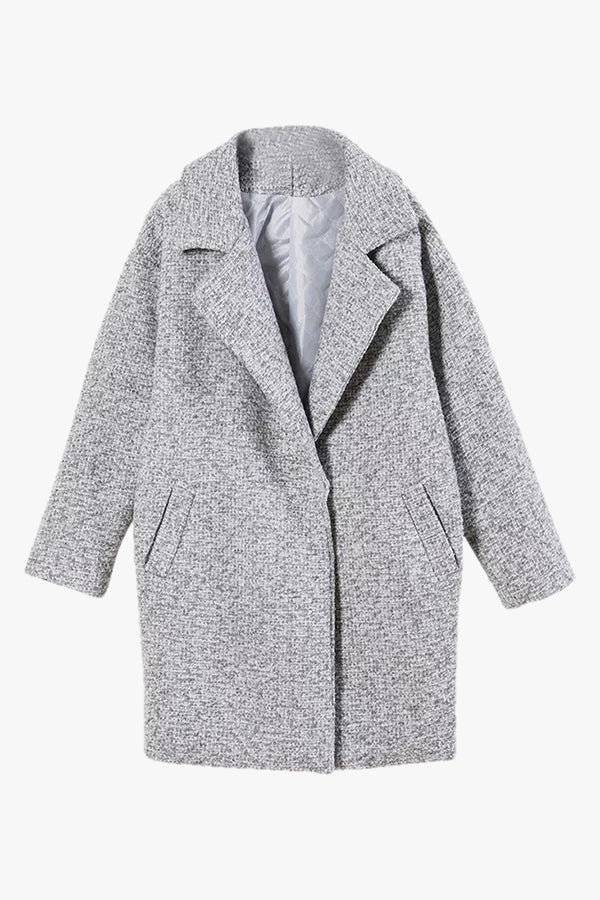 Dia: Mixed Wool Coat