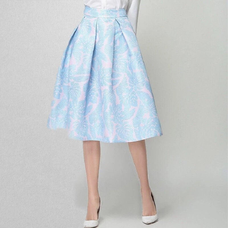 Sherry: Baby Blue Skirt