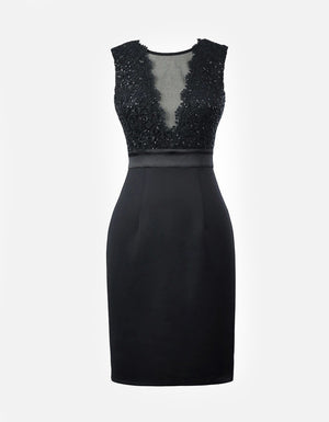 Kate: Sleeveless Sequin Dress