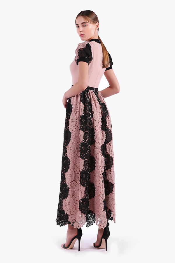 Issy: Lace up Maxi