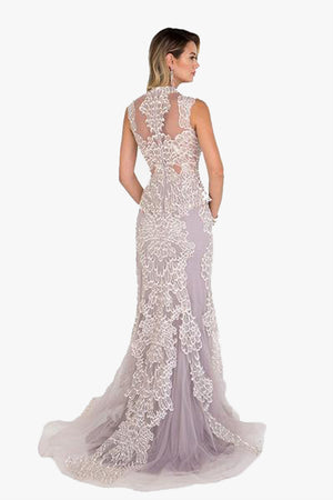Christine: Mauve Evening Gown