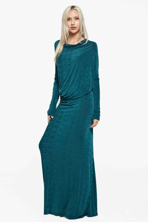 Athens: Green Maxi Dress