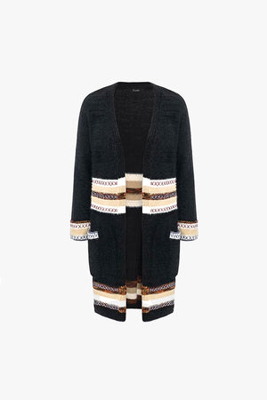 Osla: Black Cardigan