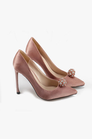 Gia: Ball Stone Pumps
