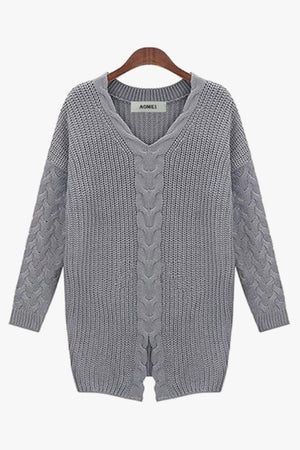 Rizi: Long Knitted Sweater