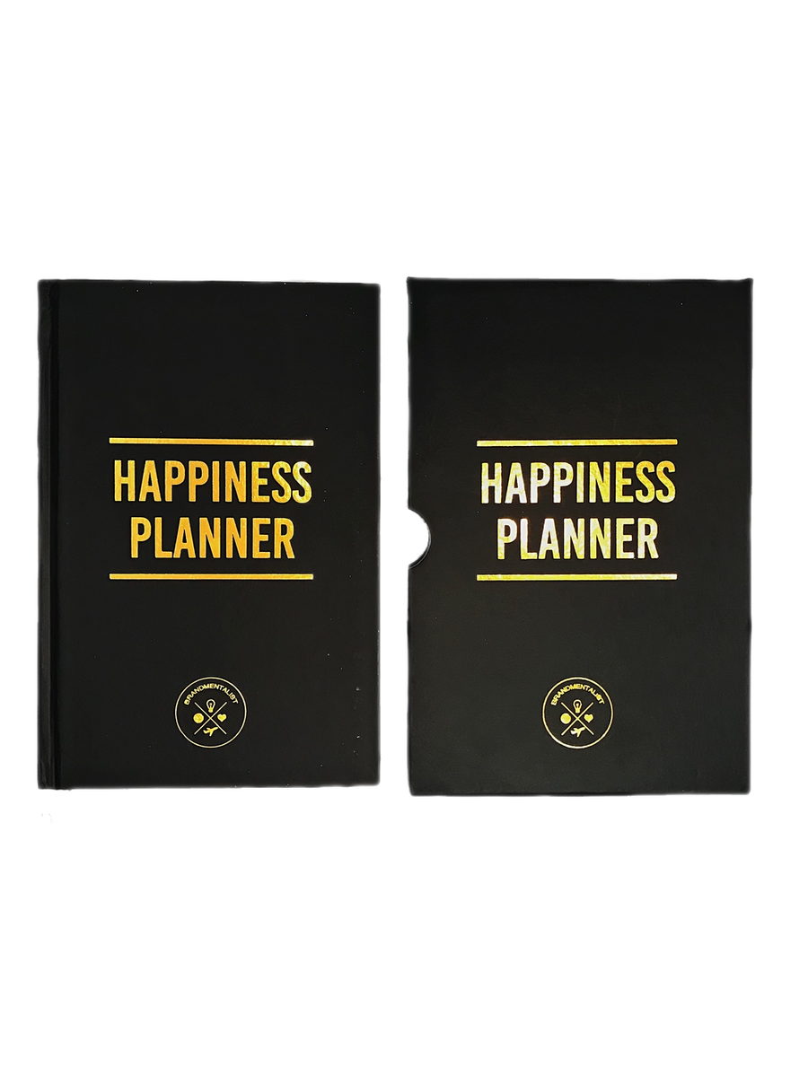 Daily Happiness Planner (Black)