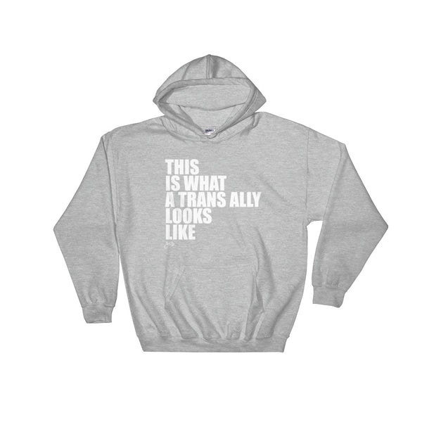 What Trans Looks Like - Ally Hooded Sweatshirt