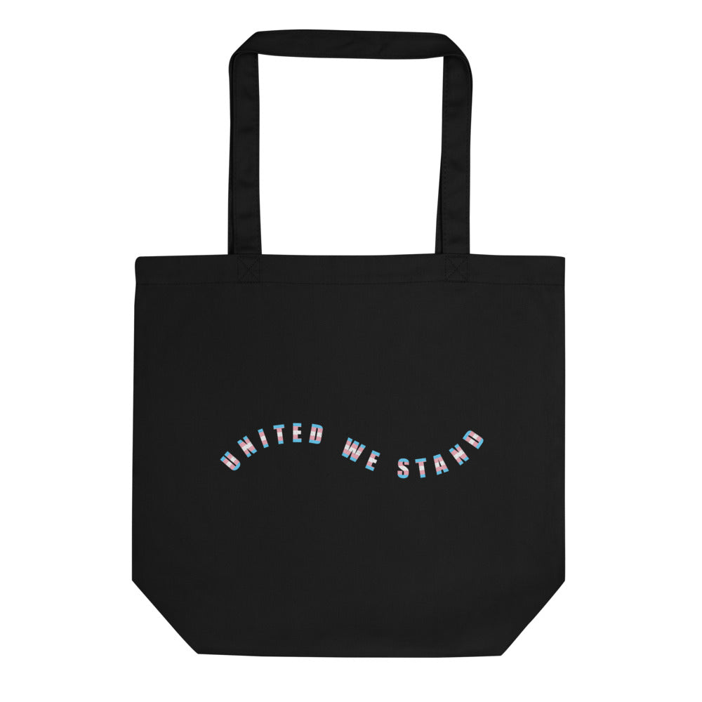 United We Stand Eco Friendly Tote Bag-Black