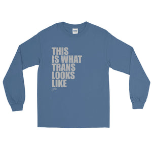 What Trans Looks Like - Long Sleeve [Light Grey]