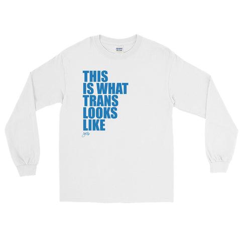 What Trans Looks Like - Long Sleeve [Blue]