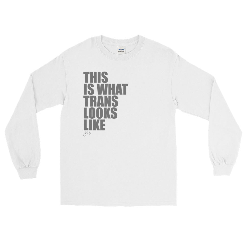 What Trans Looks Like - Long Sleeve [Dark Grey]