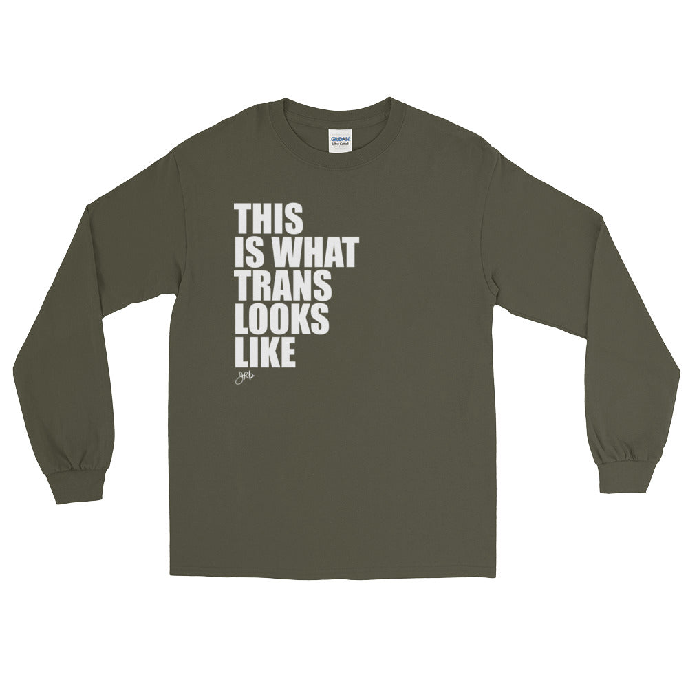 What Trans Looks Like - Long Sleeve [White]