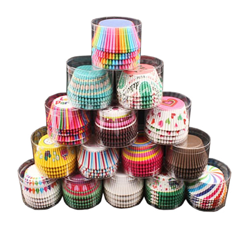100pcs Decorative Cupcake Liner