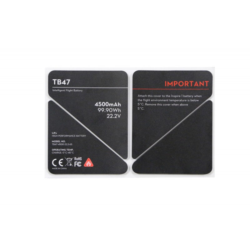 DJI Inspire TB47 Insulation sticker