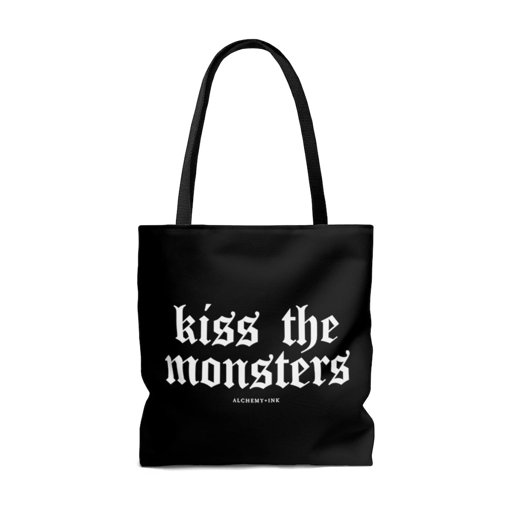 Kiss the Monsters Tote Bag