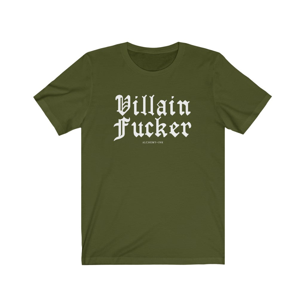 Villain Fucker - Unisex College Tee