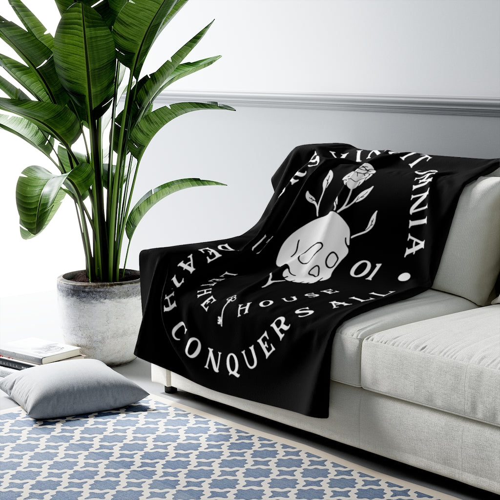 Ninth House - Sherpa Fleece Blanket