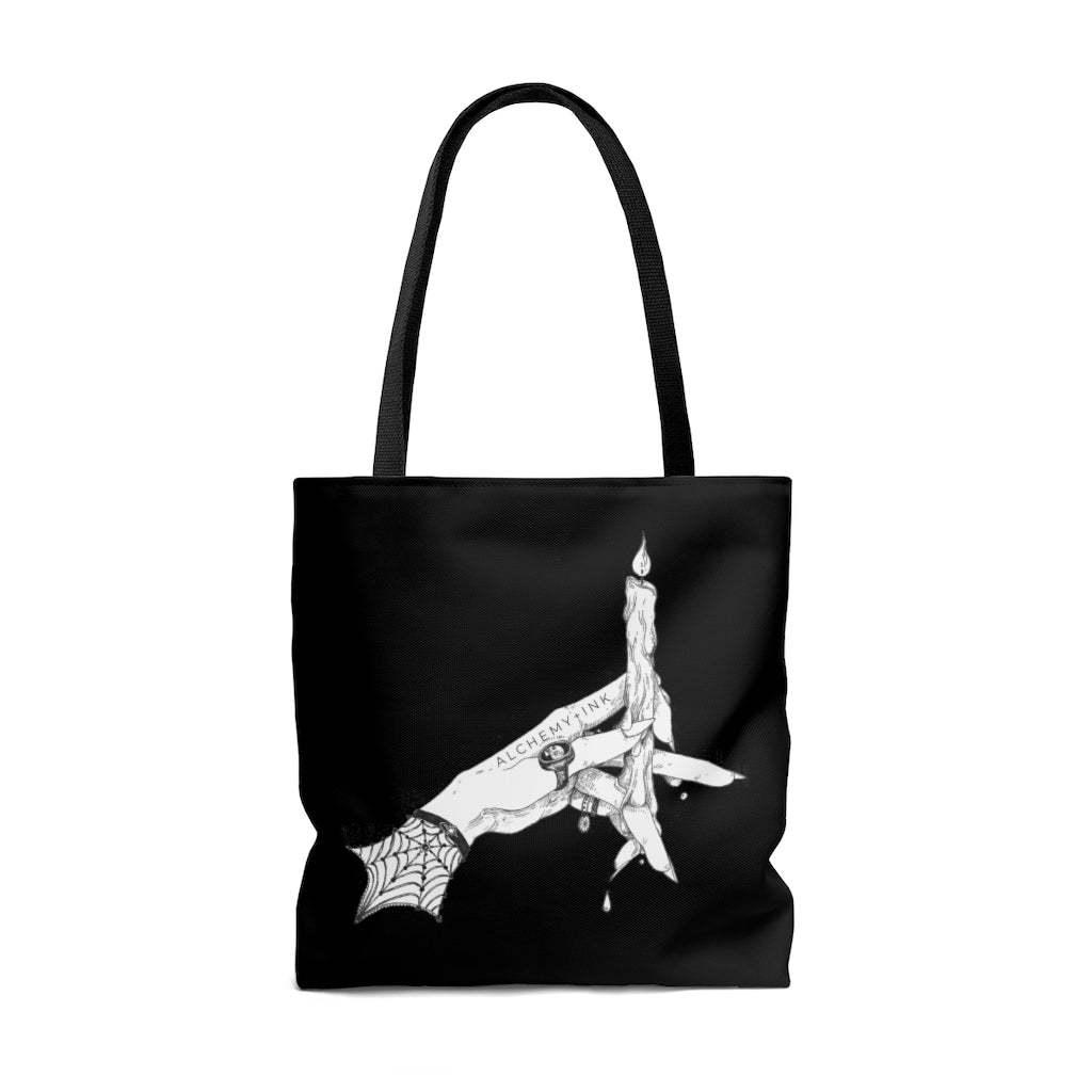 ALCHEMY logo Tote Bag