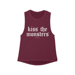 Kiss the Monsters Muscle Tank