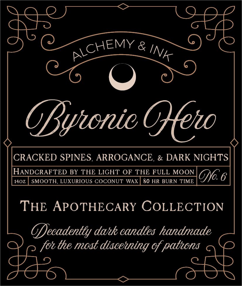Byronic Hero - Apothecary Candle