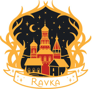 Ravka - Shadow & Bone - Grishaverse Inspired Enamel Pin
