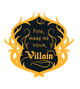 Fine, Make Me Your Villain - The Darkling - Grishaverse Inspired Enamel Pin
