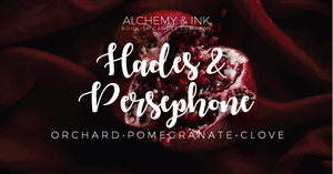 Hades & Persephone - Greek God Inspired Candle