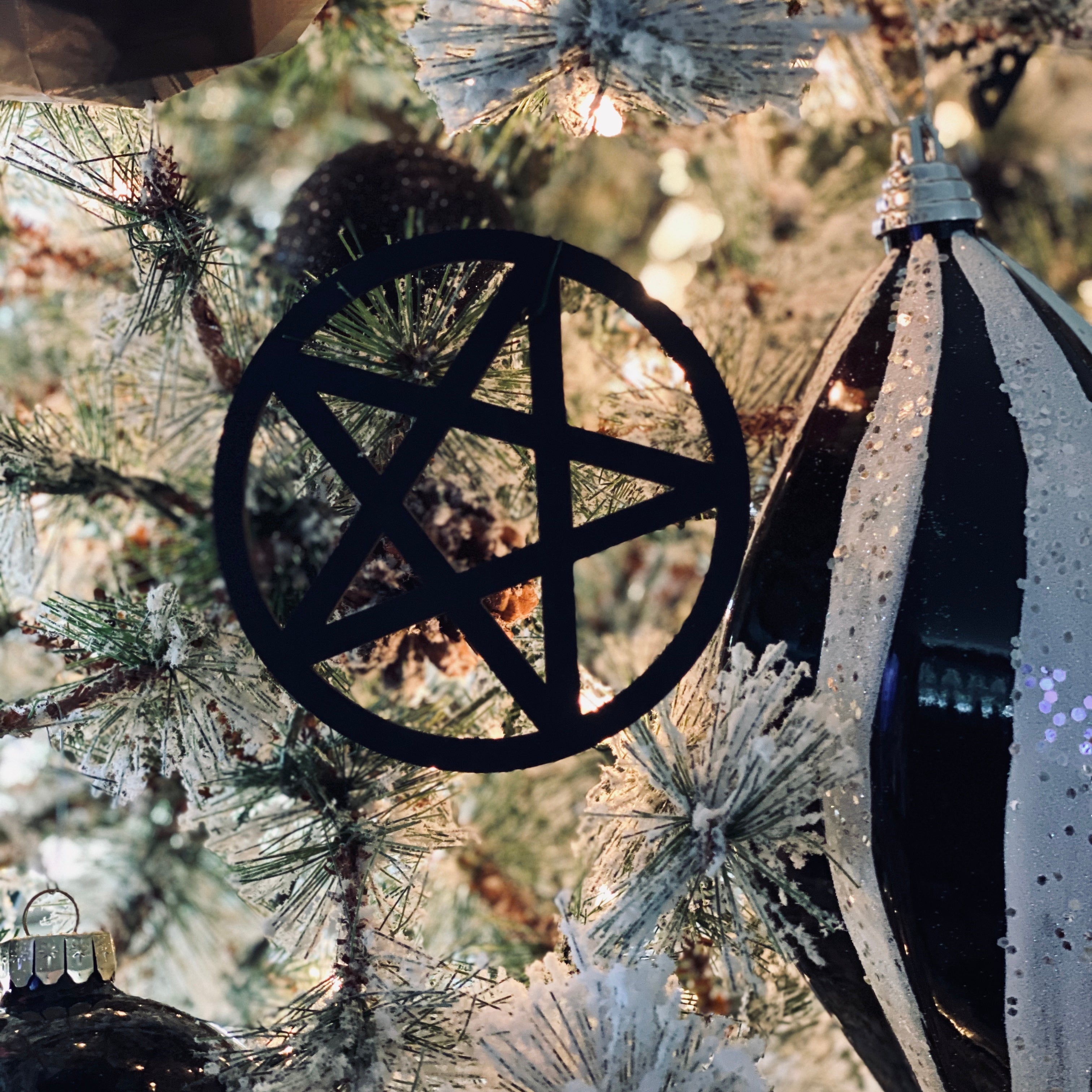 Pentagram Custom Ornament