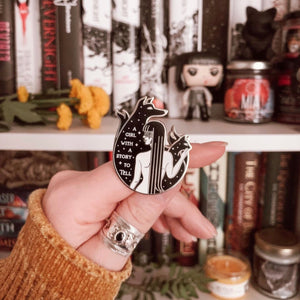 True Dark Mia Corvere Pin - Nevernight