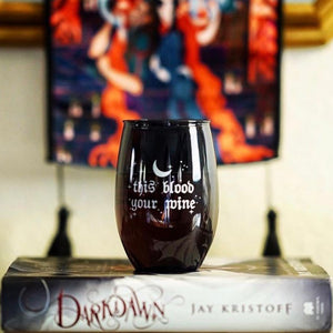 True Dark Wine Glass