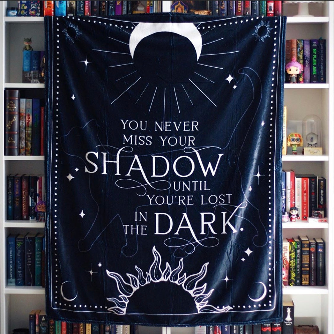 True Dark Blanket - Nevernight Inspired
