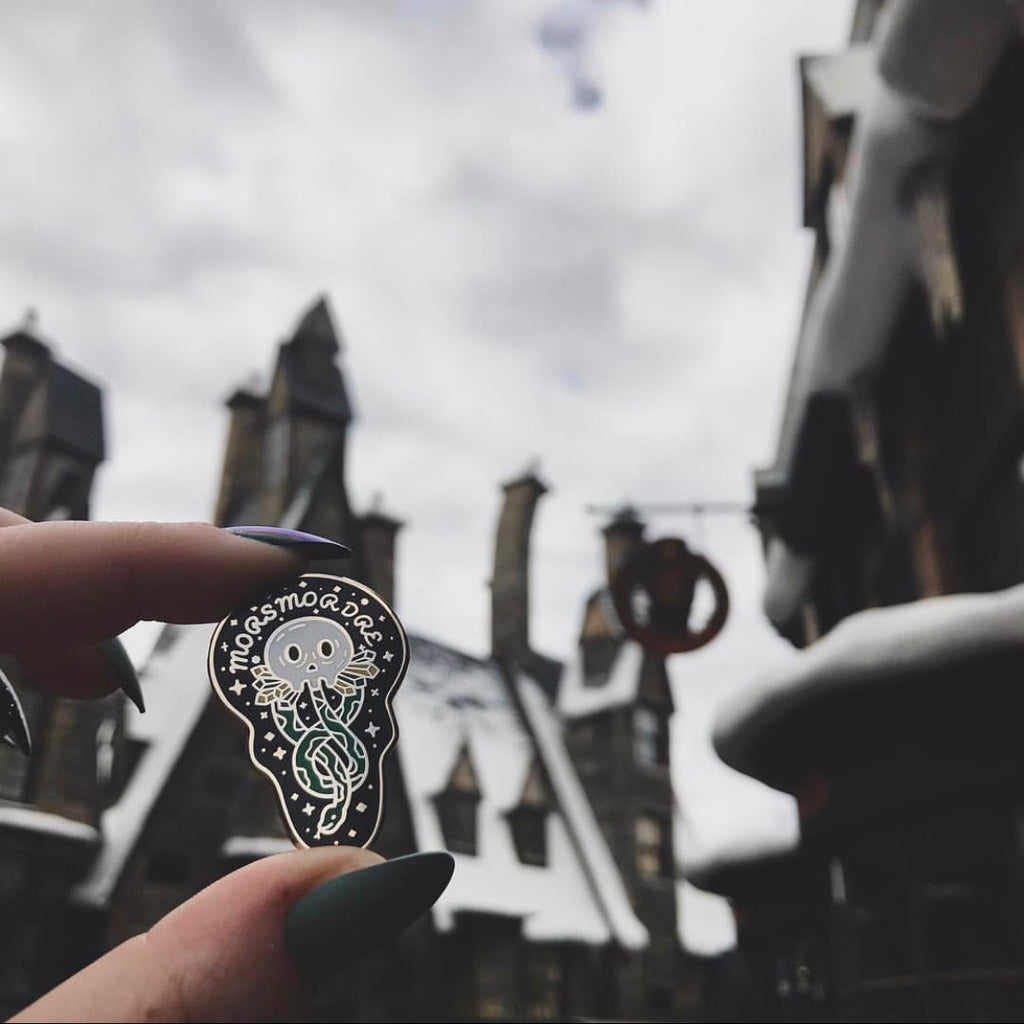Morsmordre Enamel Pin - Harry Potter