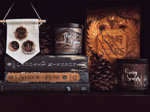 King of Scars - Nikolai Lantsov - Shadow and Bone Inspired Candle