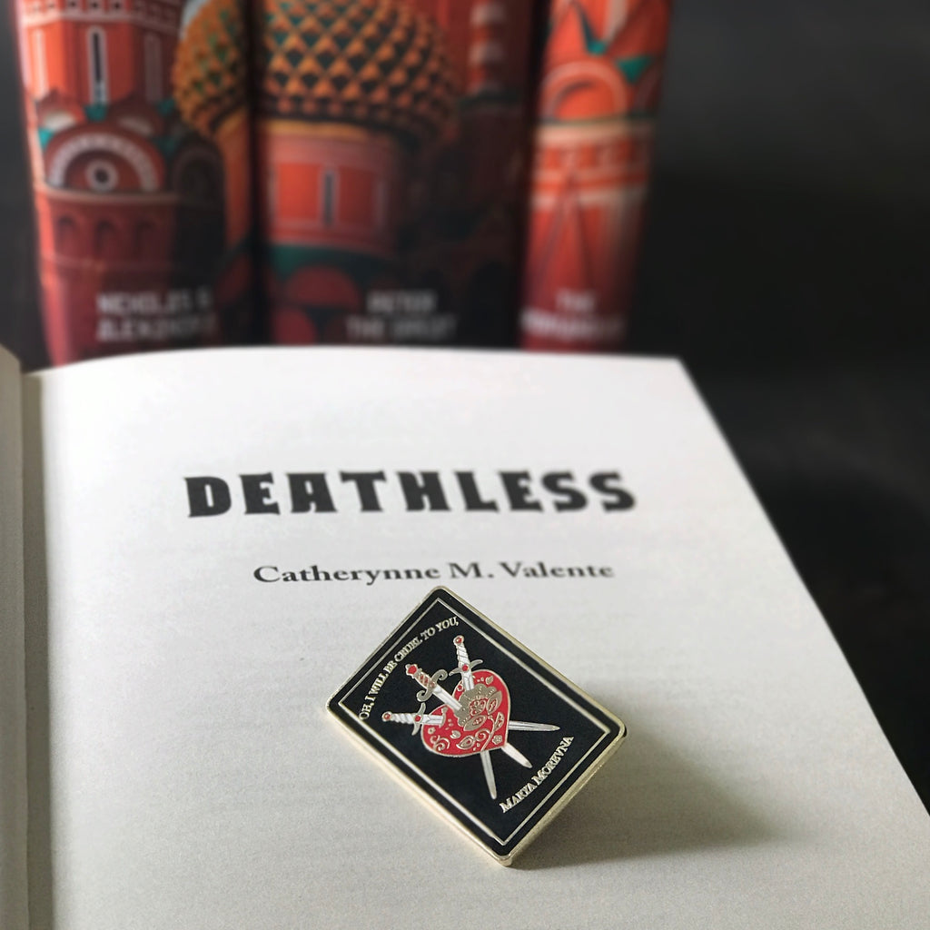 Deathless Enamel Pin