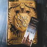 King of Scars & Wicked King Double-Sided Woodmark