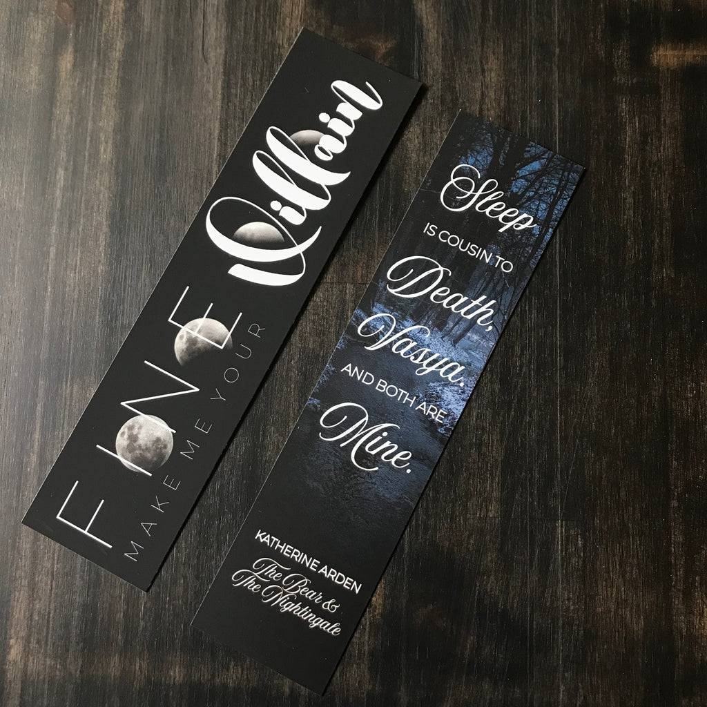 Darkling & Morozko Double-Sided Bookmark