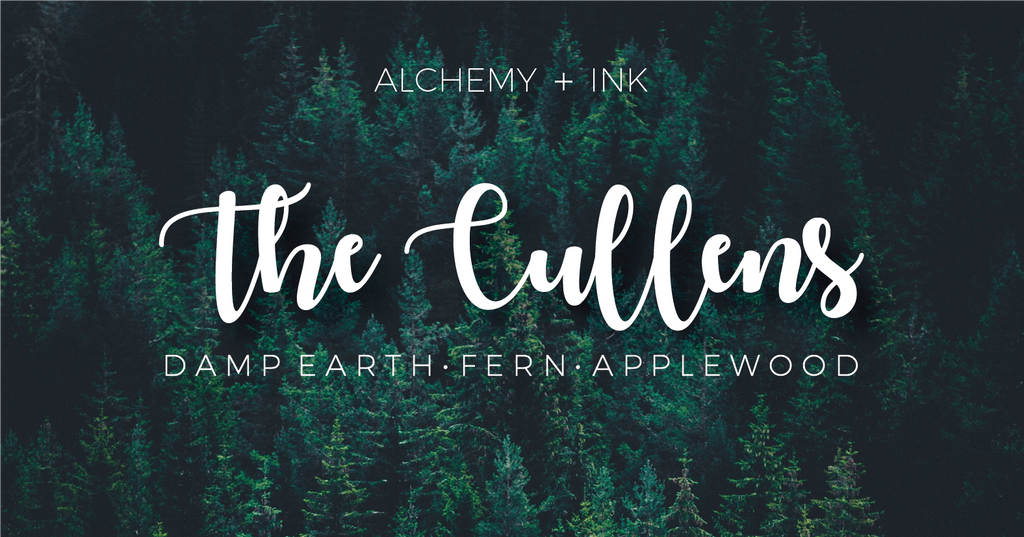 The Cullens - Twilight Inspired Candle