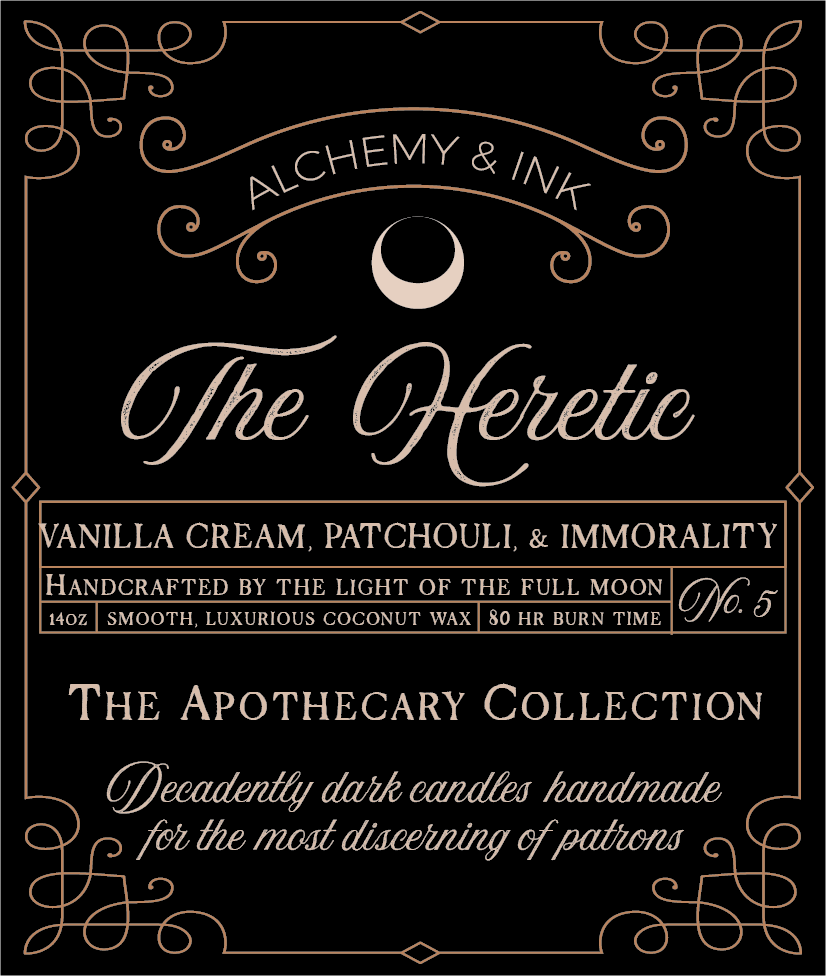 The Heretic - Apothecary Candle