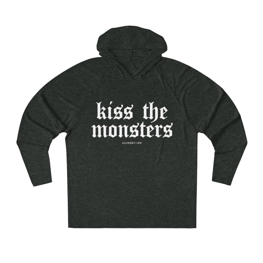 Kiss the Monsters - Unisex Loose Fit Hoodie
