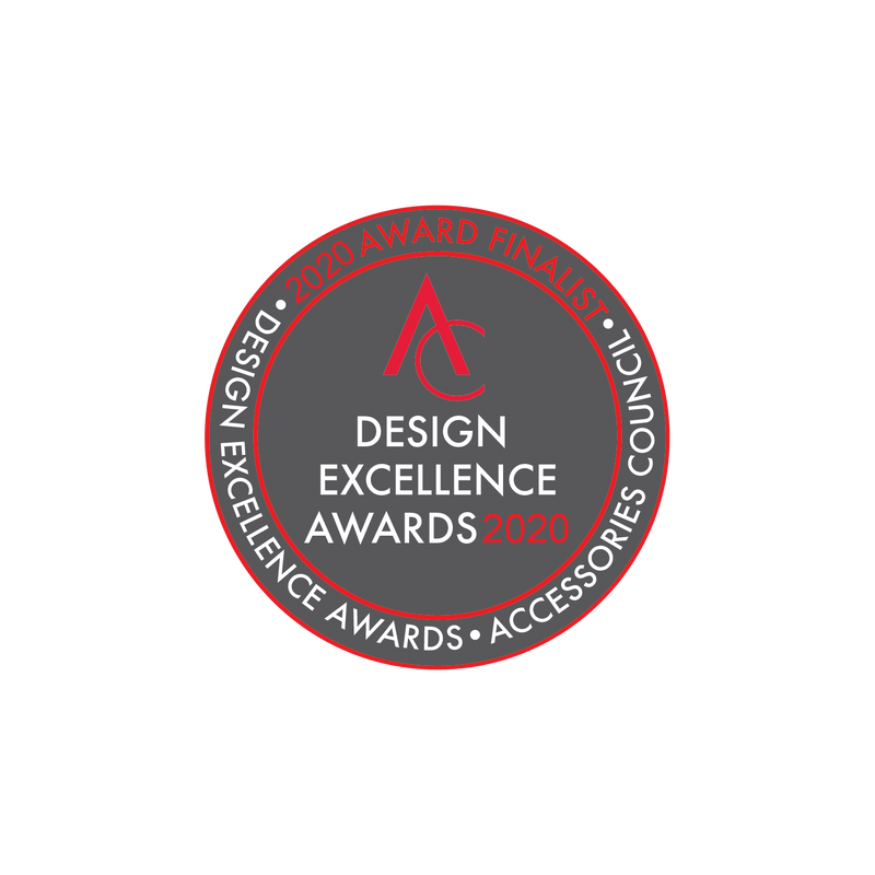 2020 ACCESSORIES COUNCIL DESIGN EXCELLENCE AWARDS NOMINEE