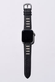 Black Napa Leather Strap