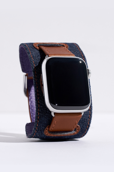 Rich Napa Leather Apple Watch Bands