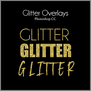 Gold and Glitter Foil Overlays! - Dream Artsy Actions Tutorials