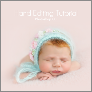 Light & Pastel Newborn Editing Tutorial | Photoshop Class